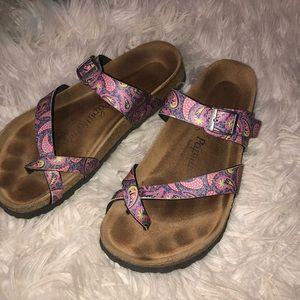 Birkenstock Tabora Paisley Sandal (Eu 41)